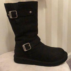 Ugg biker boot size 7